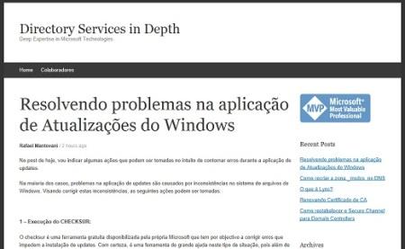 Atualizações Windows