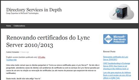 Certificados Lync Server