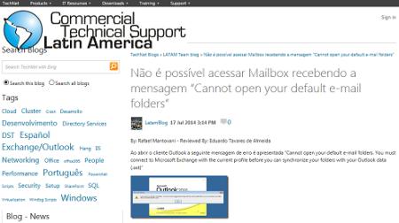 Default Email Folders