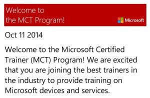 MCT 2014